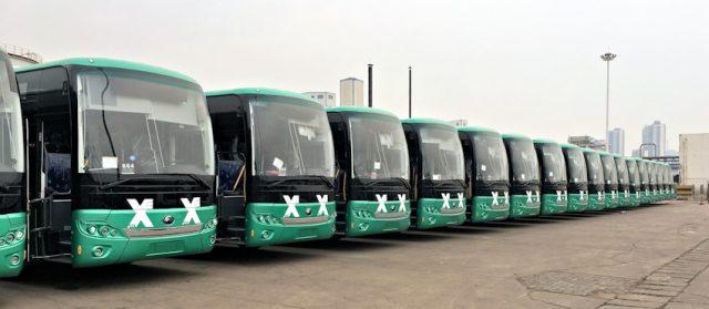 אגד החלה להפעיל 25 אוטובוסים חשמליים באזור חיפה